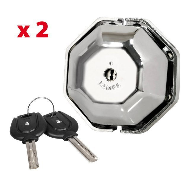 2 sæt af ekstra lås til varebil + 2 nøgler