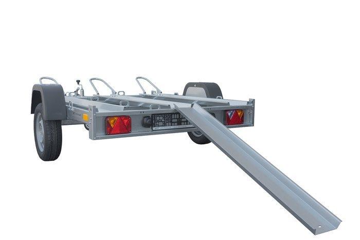MC trailer for 3 motorcykler Unitrailer MOTO 3/R bladfjedre